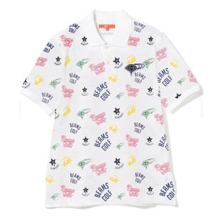 ビームス(BEAMS)のビームス ゴルフ 渋野日向子 全英 優勝記念ポロシャツ メンズ Mサイズ 正規品(ウエア)