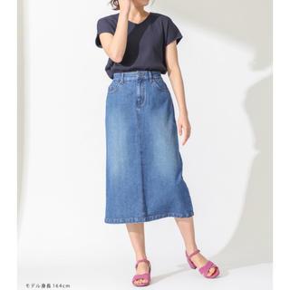 ハニーズ(HONEYS)の新品HoneysハニーズMサイズデニムAラインタイトスカート(ひざ丈スカート)