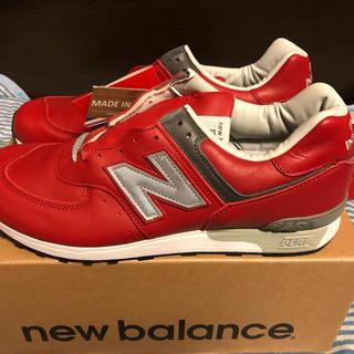 ニューバランス(New Balance)の新品 UK製 NEW BALANCE M576RED 26.5cm オールレザー(スニーカー)