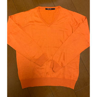 オレンジ色ニット(ニット/セーター)