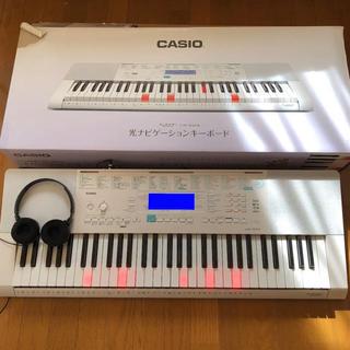 カシオ(CASIO)のCASIO 光ナビゲーション LK-223 美品(キーボード/シンセサイザー)