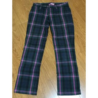 アイロニー(IRONY)のirony アイロニー チェックパンツ S check pants (カジュアルパンツ)