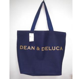 DEAN & DELUCA - DEAN&DELUCAトートバックMネイビー