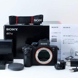 SONY - 【新品級】ソニー SONY α7R II ILCE-7RM2 ボディ 4240万