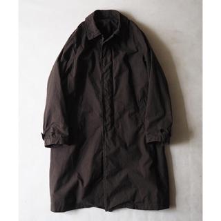 コモリ(COMOLI)のnest robe confect スーピマコットンステンカラーコート(ステンカラーコート)