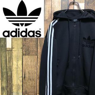 adidas - 【激レア】アディダスオリジナルス☆フロッキーロゴ入りフード付きトラックジャケット