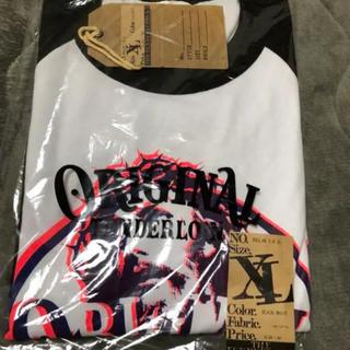 テンダーロイン(TENDERLOIN)のテンダーロイン   ラグラン JC XL 7分丈 新品(Tシャツ/カットソー(七分/長袖))