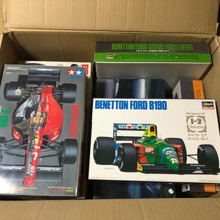 フェラーリ(Ferrari)の送料無料 ジャンク タミヤ ハセガワ F1 プラモデル 大量11個セット(模型/プラモデル)