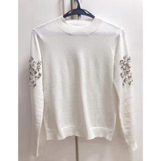 Chesty - chesty flower spangle  knit