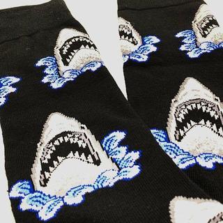 靴下 ソックス シャーク サメ JAWS ジョーズ 原宿 海外 人気(ソックス)