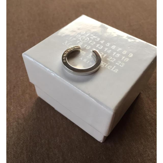 Maison Martin Margiela(マルタンマルジェラ)のL新品 メゾンマルジェラ ナンバリング ロゴ リング 16AW メンズのアクセサリー(リング(指輪))の商品写真