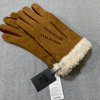 アナスイ(ANNA SUI)の新品 アナスイ 羊革 手袋 ②(手袋)