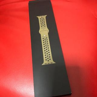 Apple Watch - 40mm Olive Flak/Black Nike Sport Band