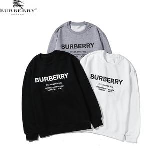BURBERRY - burberry 日常用 丸首 美品 サイズ選択可 薄手 パーカー