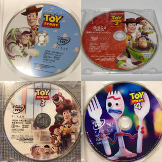 Disney - トイストーリーDVD1〜4セット