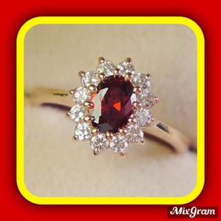 SWAROVSKI - ✨定価8800円✨★SWAROVSKI★ゴージャス リング 指輪 ルビー色
