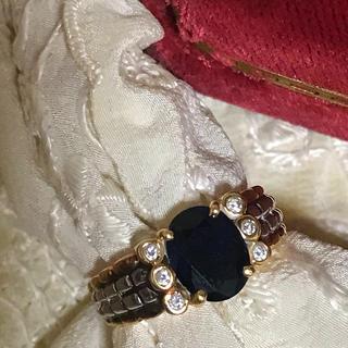 金18&プラチナ ✨✨ダイヤオニキス指輪✨(リング(指輪))
