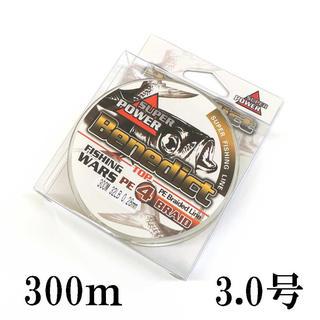 PEライン 5色 マルチカラー 4本編み 300m 3号  (釣り糸/ライン)