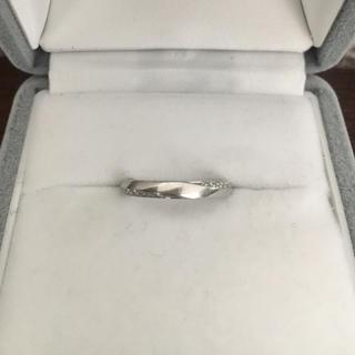 アイプリモ ダイヤモンド ペネロープ リング Pt950 0.06ct 3.5g(リング(指輪))