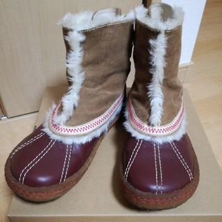 インディアン(Indian)の美品 インディアン ボアブーツ 24.0〜24.5(ブーツ)
