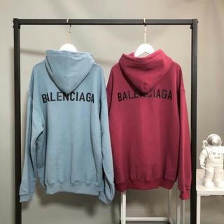 バレンシアガ(Balenciaga)の高品質 バレンシアガ  2色 男女兼用パーカー カジュアル(パーカー)