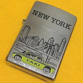 ジッポー(ZIPPO)のZIPPO NEWYORK イエローキャブ BLOOKLIN BRIDGE 良品(タバコグッズ)