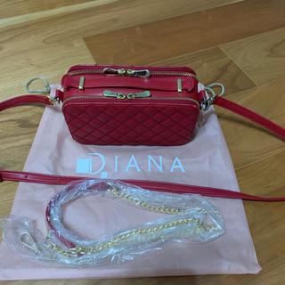 DIANA - DIANA ショルダーお財布付きバック