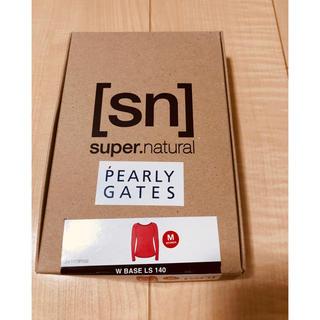 パーリーゲイツ(PEARLY GATES)のPEARLY GATESレディースカットソー Mサイズ(カットソー(長袖/七分))