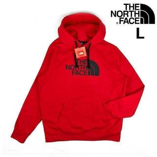 ザノースフェイス(THE NORTH FACE)の期間限定SALE!ノースフェイス ハーフドーム パーカー(L)赤 181130(パーカー)