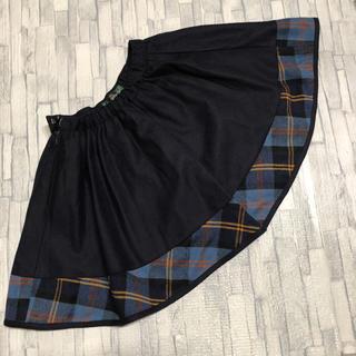 ザスコッチハウス(THE SCOTCH HOUSE)の【お値下げ中】 The Scotch House  ウールスカート 120(スカート)