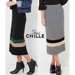 チルアナップ(CHILLE anap)の新品 スカート(ロングスカート)