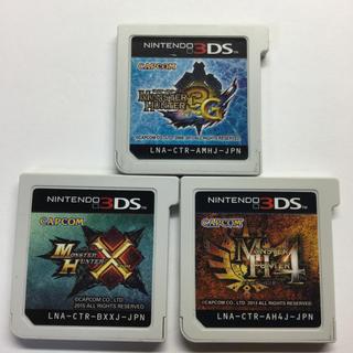 ニンテンドー3DS - 【NO282】3DS  モンスターハンタークロス+モンハン4+モンハン3G