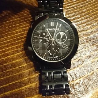 BURBERRY - バーバリー クロノグラフ メンズ 腕時計 BU1771