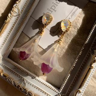 リリーブラウン(Lily Brown)の再∞販 dreaming flower dress pierce(ピアス)