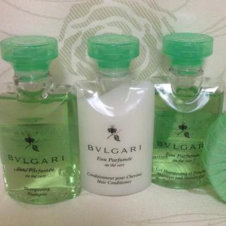 BVLGARI - 新品未使用☆ブルガリ アメニティー シャンプー ボディ ソープ フレグランス