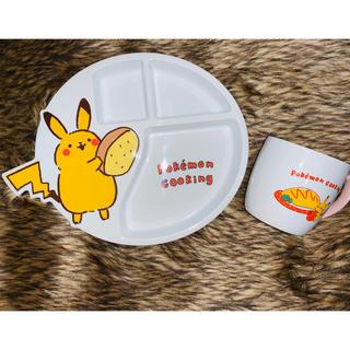3COINS - スリーコインズ ポケモン ベビー用食器 ランチプレート&マグカップセット売