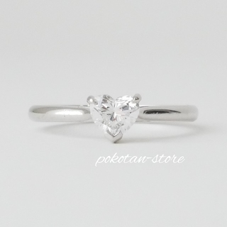 Tiffany & Co. - 美品【ティファニー】ハートシェイプ Pt950 ダイヤモンド  0.47ct