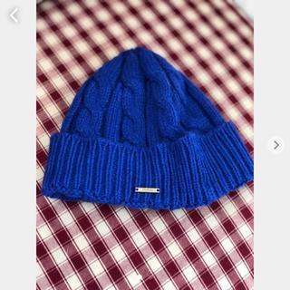 リリーブラウン(Lily Brown)のリリーブラウン   ニット帽 ニット帽子(ニット帽/ビーニー)