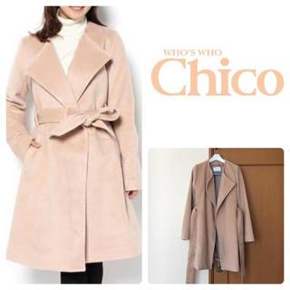フーズフーチコ(who's who Chico)のwho's who Chico ★ シャギーローブコート(ガウンコート)