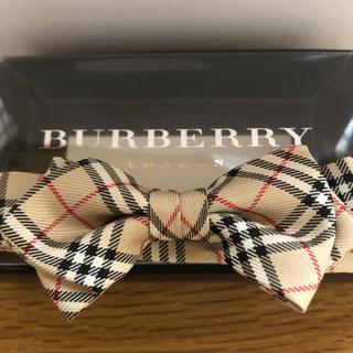 BURBERRY - バーバリー 蝶ネクタイ キッズ 七五三