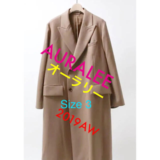 1LDK SELECT - AURALEE 19AW LIGHT MELTON DOUBLE COAT 3