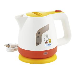 【新品未使用】ミッフィー♡miffy♡電気ケトル0.8ℓ♡湯沸かし器♡ポット