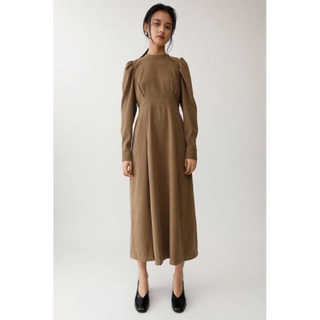 moussy - Puffy sleeved ドレス moussy  ワンピース