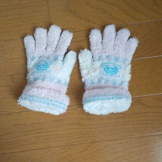 シナモロール(シナモロール)のキッズシナモンロール手袋(手袋)