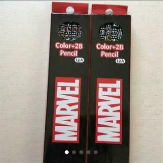 MARVEL - 2B鉛筆 2ダースセット MARVEL 新品 マーベル
