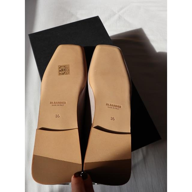 Jil Sander(ジルサンダー)のJil Sander ジルサンダー バレエシューズ アンクレット レディースの靴/シューズ(バレエシューズ)の商品写真