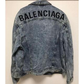 Balenciaga - バレンシアガ 2019AWbalenciaga ロゴデニムジャケットGジャン38