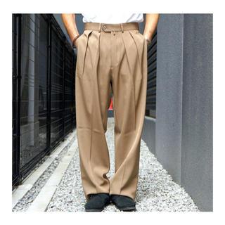 コモリ(COMOLI)のNEAT ニート Wool High density Gabardine メンズ(スラックス)
