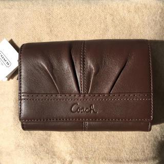 COACH - 新品未使用✨COACH 二つ折り財布