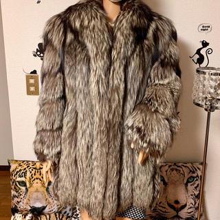 大注目・超最高級 SAGA FOX ROYAL ゴールドラベル 毛皮 (毛皮/ファーコート)